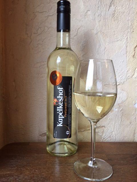 Peeljuweel - droge witte wijn