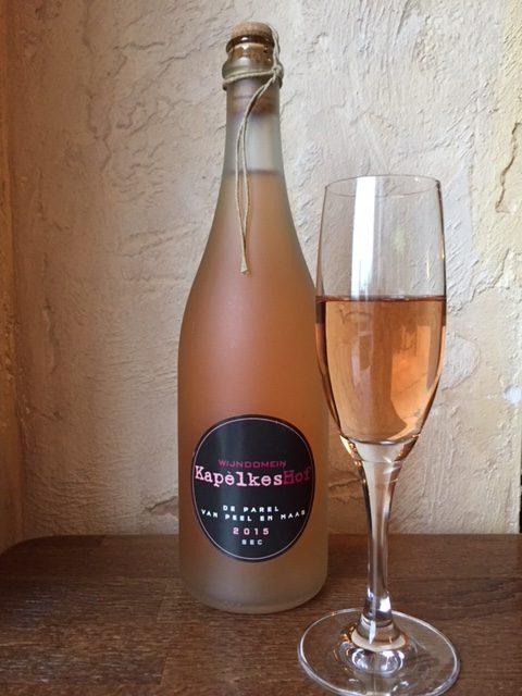 Parel van Peel & Maas - Mousserende rosé